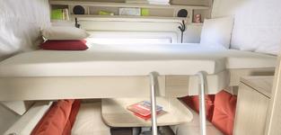 Romano Hefbed/Compact Garagebed 120-140*200