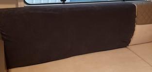 Camper / Mobilhome Carré Stretch badstofhoes per stuk kleur Antraciet