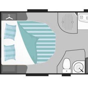 monaco Eiland bed (140x200)