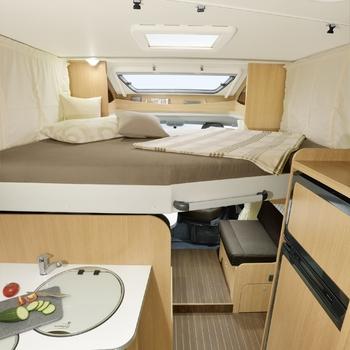 Monaco Hefbed / Compact garagebed (120-140x200)