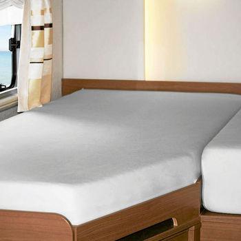 Molton matrasbeschermer Stretch