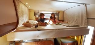 Molton Hefbed en compact garagebed
